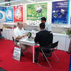 Attend Electronic component show